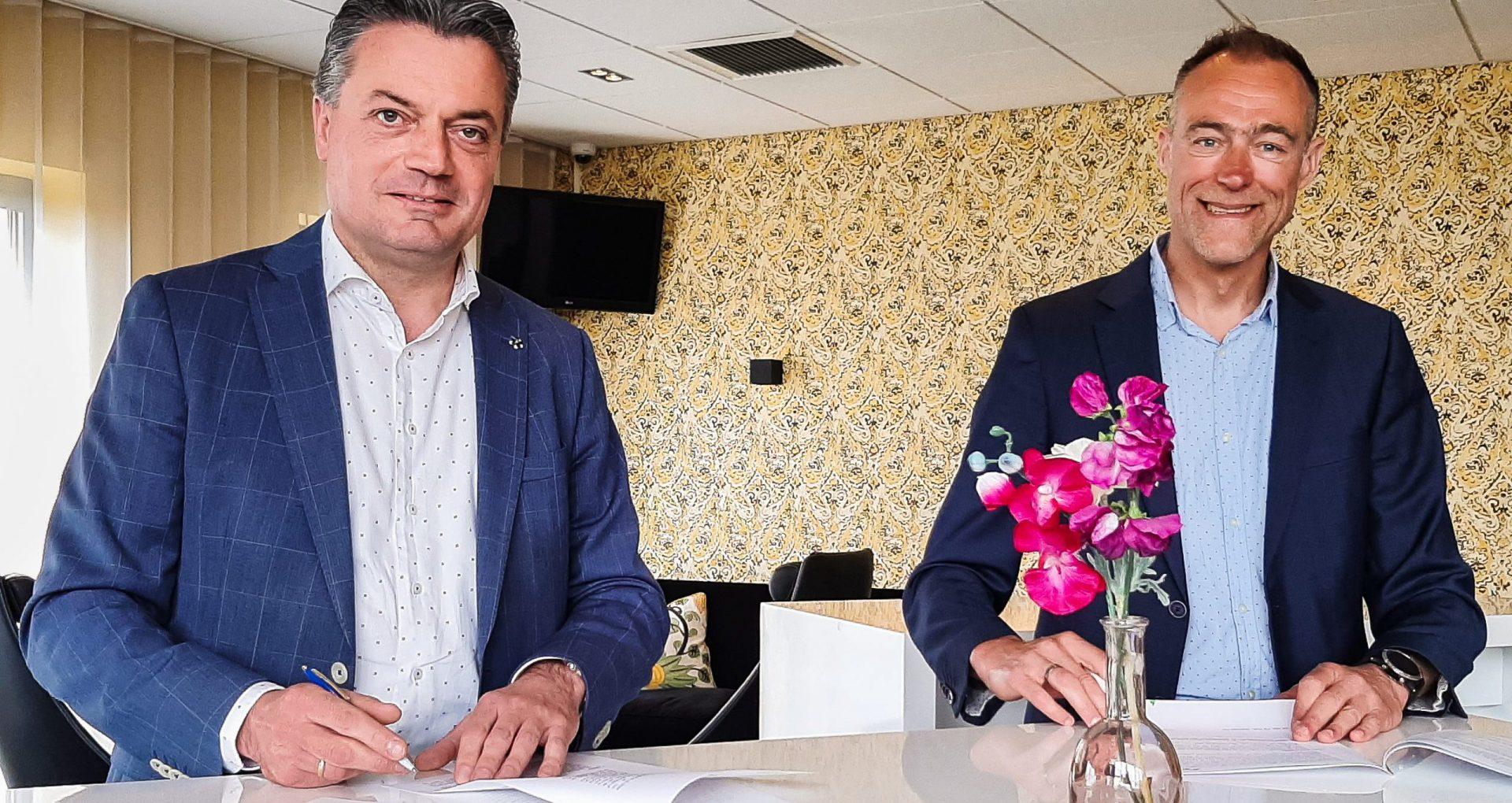 Links: Wim Kulik, rechts: Gerwin Kamps
